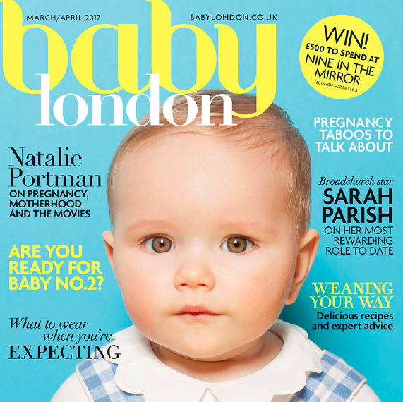 SUNUVA IN BABY LONDON MARCH/APRIL 2017 ISSUE!