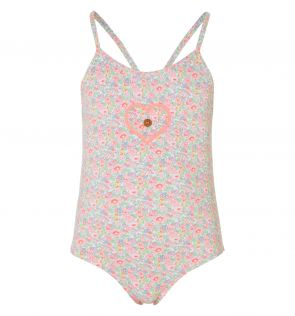 Sunuva Baby Girls Liberty Floral Swimsuit Front