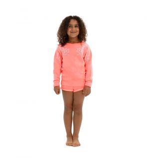 Girls Pink Sweat Set