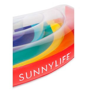 SUNNYLIFE LUXE LIE-ON FLOAT RAINBOW