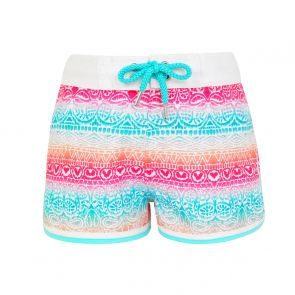 Teen Girls Pink Ombre Surf Shorts