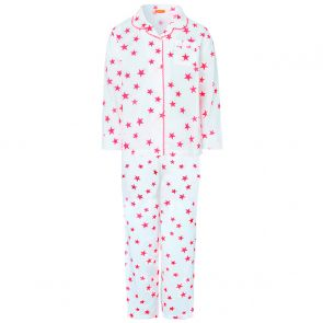 Girls Pink Popstar Print Pyjamas Set
