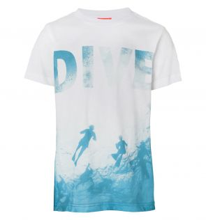 Boys Photographic Diver T-Shirt
