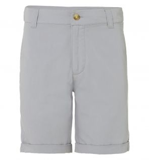 Boys Grey Tailored Cotton Shorts