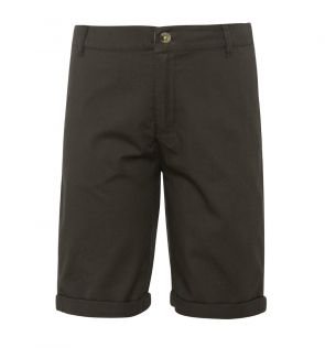 Boys Khaki Cotton Tailored Shorts