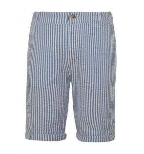 Boys Navy Cotton Short