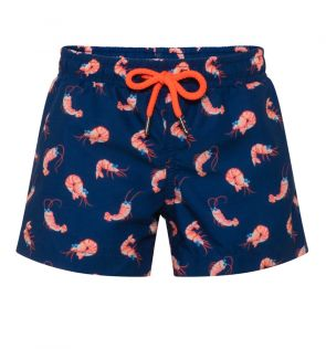 Boys Navy Shrimpy Swim Shorts