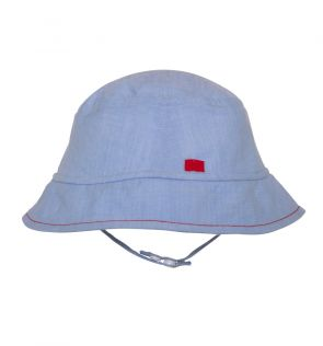 Baby Boys Blue Bucket Hat