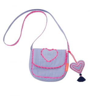Girls Blue Hippy Bag