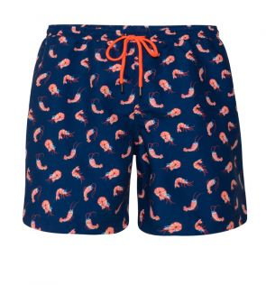 Mens Navy Shrimpy Swim Short