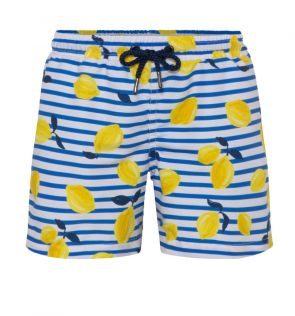 Mens Sicilian Lemon Swim Shorts