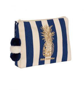 Girls Navy Hello Sunshine Washbag