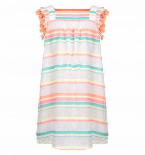 Girls Sorbet Stripe Dress