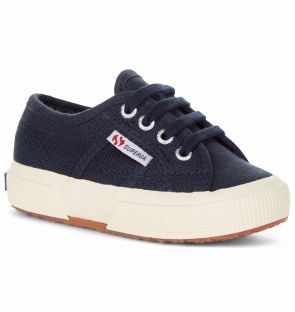 Superga Kids Classic Navy Trainers