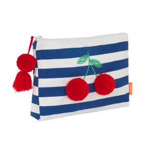 Girls Blue Fruit Punch Cherries Washbag