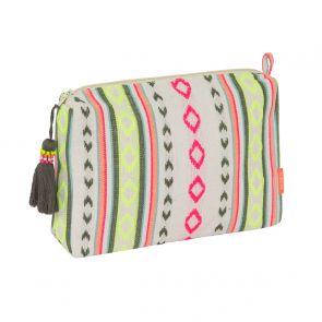 Girls Tribal Stripe Washbag