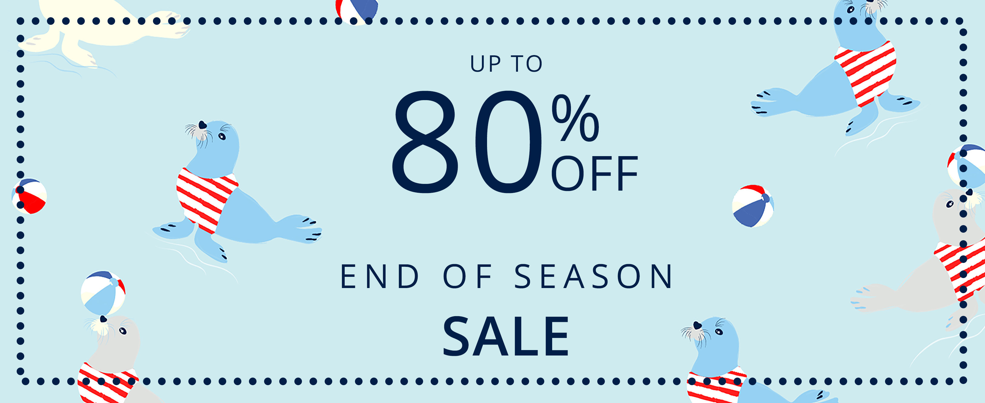 80 Percent Off Sale