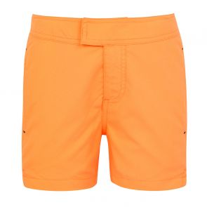 Boys Neon Orange Tailored Swim Short