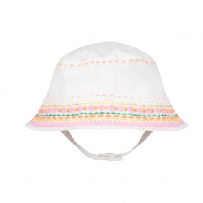 Baby Girls White Sun Hat