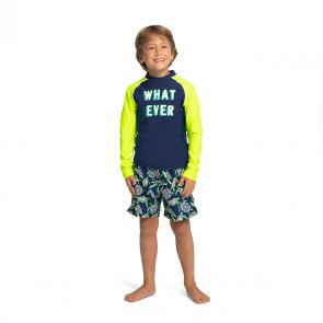 Boys Whatever Long Sleeve Rash Vest
