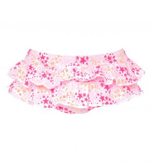 Baby Girls Pop Star Frill Nappy Pant
