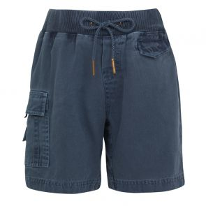 Boys Navy Cargo Cotton Shorts