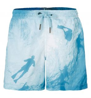 Boys Photographic Diver Swim Shorts