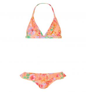 Girls Tropical Butterfly Bikini