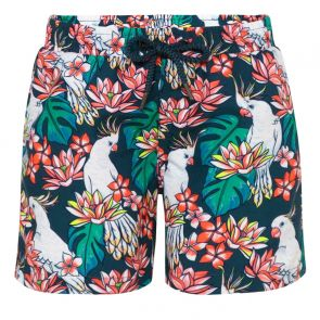 Boys Green Cockatoo Swim Short