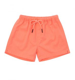 Baby Boys Orange Cotton Short