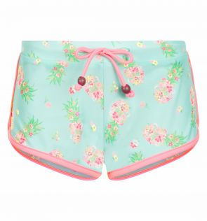 Girls Pineapple Ditsy Surf Shorts