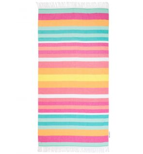 Sunny Life Striped Fouta Towel