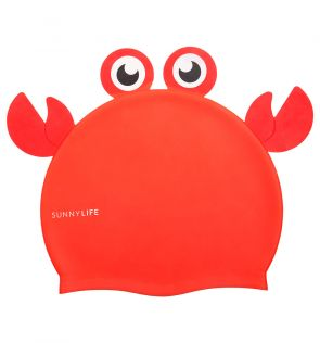 Sunnylife Crabby Shaped Swimming Cap