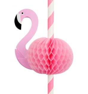 Sunnylife Flamingo Set of 12 Straws
