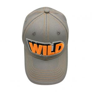 Boys Grey 'Wild' Cap
