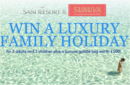 Win A Luxury Family Holdiay