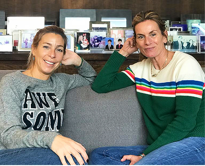 At Home with Emily and Sabrina