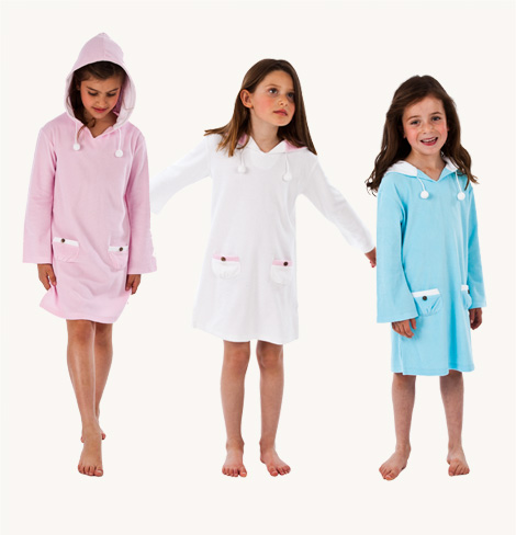 Girl's Towelling Dresses