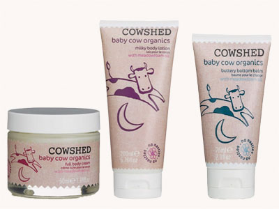 Cowshed baby luxury products